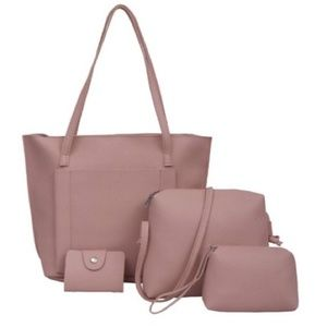 Handbags - LAST ONE!!! TRAVELS WELL leather bag set